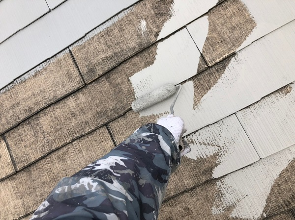 群馬県高崎市 外壁塗装 屋根塗装 スレート屋根 アステックペイント スーパーシャネツサーモ 水谷ペイント ナノコンポジットW