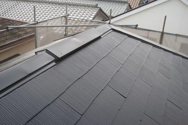 群馬県伊勢崎市 屋根カバー工法 重ね葺き工事 ガルバリウム鋼板 屋根塗装