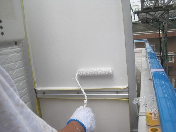 群馬県伊勢崎市 外壁塗装 付帯部塗装 鉄骨階段 下地処理 ケレン作業 水谷ペイント ナノコンポジットW
