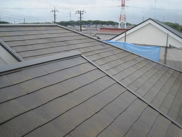 群馬県伊勢崎市 屋根塗装 雨漏りスピード補修 下地処理 高圧洗浄