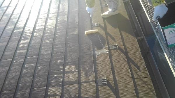 群馬県伊勢崎市 屋根塗装 雨漏り タスペーサー 日本ペイント 遮熱塗料 サーモアイ
