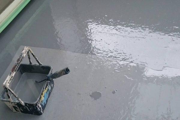 群馬県高崎市 外壁塗装 防水工事 FRP防水 ベランダ