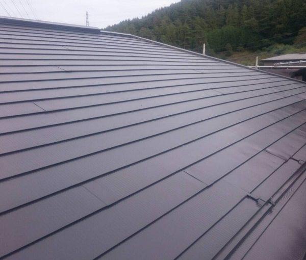 群馬県高崎市 屋根塗装 雨漏り シーリング打ち替え工事 縁切り タスペーサー