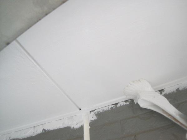 群馬県高崎市 外壁塗装 付帯部塗装 軒天塗装 日本ペイント エコフラット100